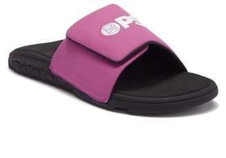 PSD The Basic Purple Slide Sandal