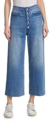 A.L.C. Patrick Button Vintage Jeans
