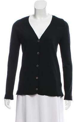 Calvin Klein Collection V-Neck Wool Cardigan