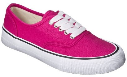 Mossimo Women's Layla Canvas Sneaker - Pink