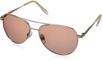 Foster Grant Women's Prelude Rose Pol Polarized Aviator Sunglasses