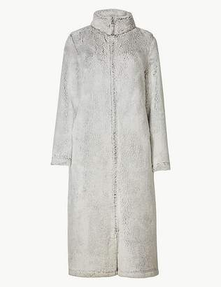 Marks and Spencer Supersoft Long Sleeve Dressing Gown