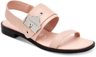 Calvin Klein Telisha Flat Sandals Women Shoes