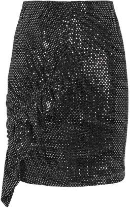 IRO Lilie Sequin-Embellished Mini Skirt