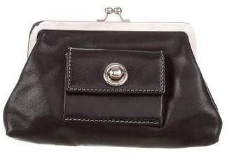 Pre Owned At Therealreal Marc Jacobs Leather Coin Purse