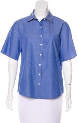 Marissa Webb Short Sleeve Button-Up Top