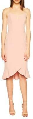 Bardot Kristen Peplum Sheath Dress
