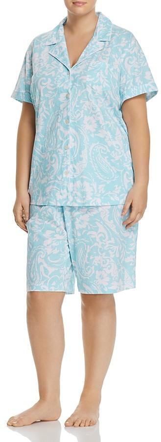 Lauren Ralph LaurenLauren Ralph Lauren Plus Bermuda Pajama Set
