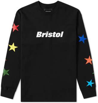 F.C. Real Bristol Long Sleeve Multicolour Star Tee