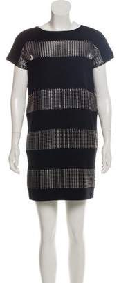 Paco Rabanne Wool Mini Dress