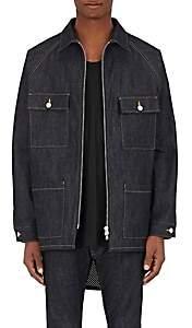 Fear Of God Men's Oversized Denim Jacket-Blue Size Xl