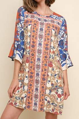 Umgee Fall Prints dress