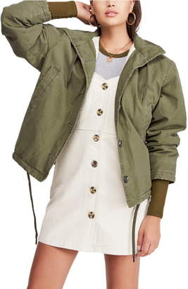BDG Urban Outfitters Cypress Fleece Lined Military Jacket
