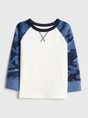 Gap Raglan Long Sleeve T-Shirt