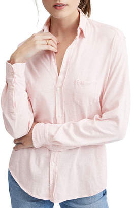 Frank And Eileen Button-Down Long-Sleeve Essential Jersey Cotton Shirt