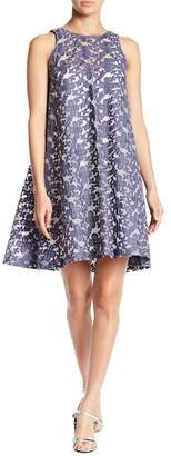 Paper Crown Dauro Floral Embroidered Shift Dress