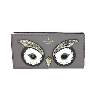 Kate Spade new york Star Bright Owl Stacy Womens's Leather Wallet Clutch