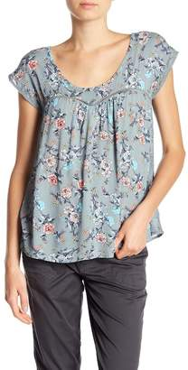 SUPPLIES BY UNION BAY Charlotte Floral Print Tee