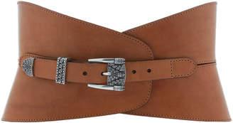 Etro Leather Waist Belt Size: 70 cm