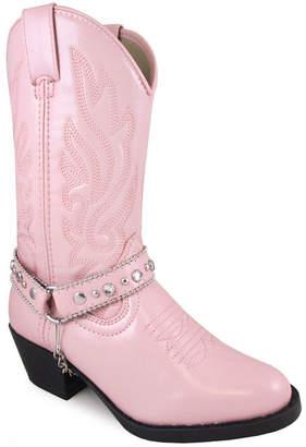 SMOKY MOUNTAIN Smoky Mountian Girl's Charleston Cowboy Boot Toddler