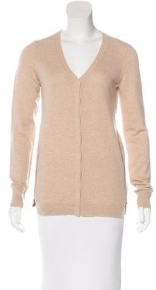 Inhabit Cashmere Long Sleeve Cardigan $130 thestylecure.com