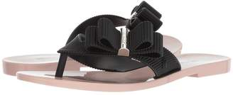 Jason Wu + Melissa Luxury Shoes + Chrome Sandal