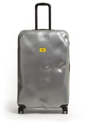 Icon Eyewear Crash Baggage 77cm Suitcase - Womens - Silver