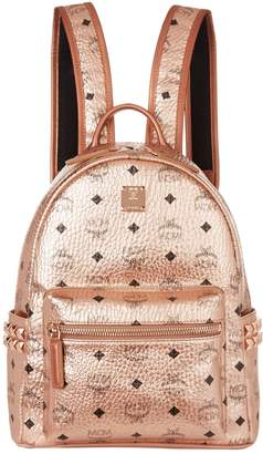 MCM Small Embellished Stark Backpack