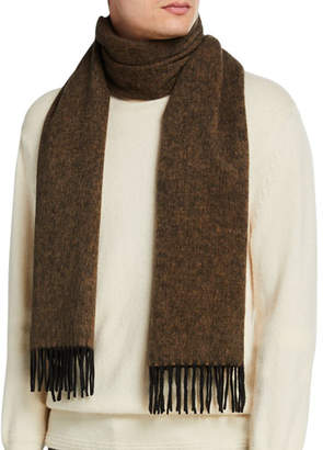 Tom Ford Men's Fringed Cashmere Scarf