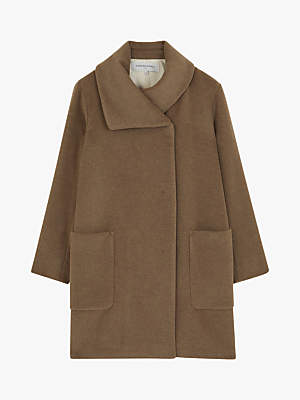 Gerard Darel Marjory Wool Coat, Camel