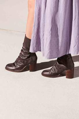Fp Collection Elle Block Heel Boot