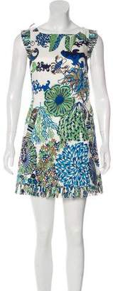 Tibi Sleeveless Print Dress