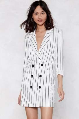 Nasty Gal Trailblazer Striped Dress