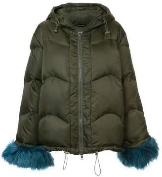 Stine Goya faux-fur trim jacket