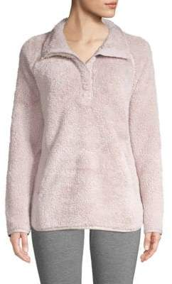 32 Degrees Plush Long-Sleeve Sweater
