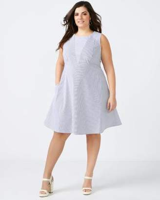 Penningtons Striped Fit and Flare Dress - In Every Story