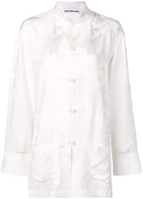 Alexander Wang oversized pajama top