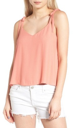 Women's Lush Tie Shoulder Camisole $35 thestylecure.com