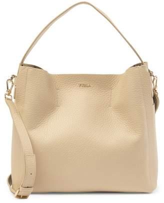 Furla Capriccio Leather Hobo Bag