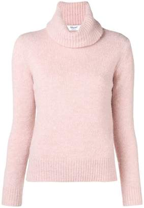 Blugirl roll-neck fitted sweater