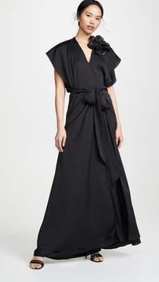 Nina Ricci Fluid Seersucker Dress
