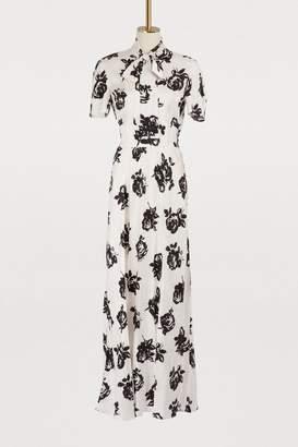 Miu Miu Silk maxi dress