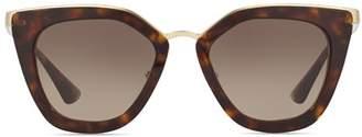 Prada Women's Conceptual Cat Eye Sunglasses, 52mm
