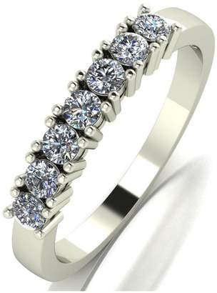 Love DIAMOND Love Diamond 9ct gold claw set 50 point diamond eternity ring