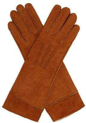 Isabel Marant Yupiks Shearling Gloves - Womens - Beige