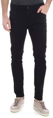 DSQUARED2 Black Wash Skater Fit Jeans