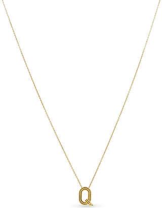 Maje 'Q' pendant necklace