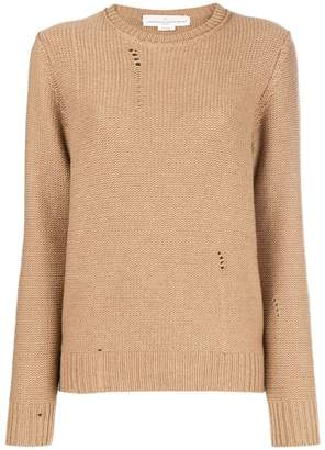 Golden Goose distressed crewneck sweater