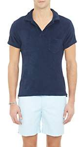 Orlebar Brown Men's Terry Polo Shirt - Navy