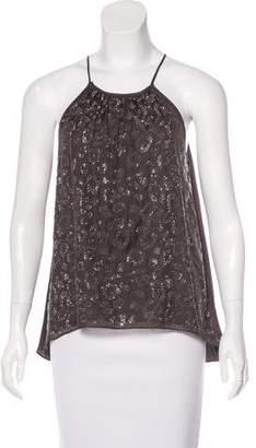 Rebecca Taylor Silk Embellished Blouse